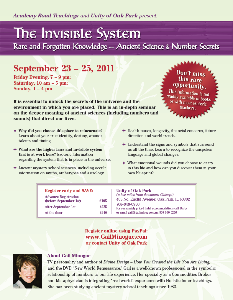 INVISIBLE SYSTEM WORKSHOP CHICAGO