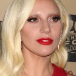 """Lady Gaga in Los Angeles, October, 2016 for premiere of """"American Horror Story Hotel"""""""