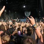 SCHLESWIG-HOLSTEIN, GERMANY - JULY 31: Crowd of people at Wacken