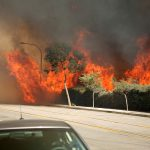 11-15-2008 Brea California Wild Fire Series. Various images from