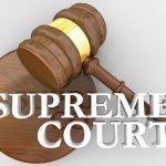 Supreme Court Gavel Justice Law Legal Decision 3d Illustration